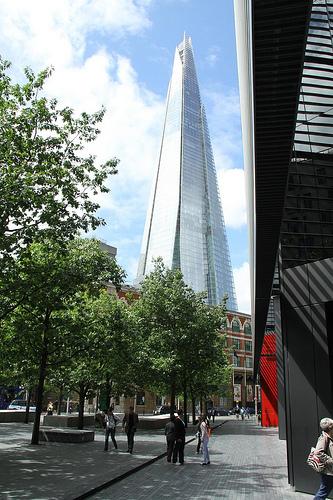 The Shard v Londýně: Nejvyšší mrakodrap Evropy nabízí nezapomenutelný výhled na britskou metropoli | © Dave Catchpole